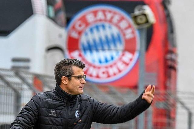 Bayern-Coach Jens Scheuer freut sich auf Sand