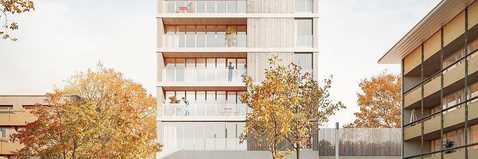 Deutschlands erstes Holzhochhaus geht in Bau – in Freiburg-Weingarten