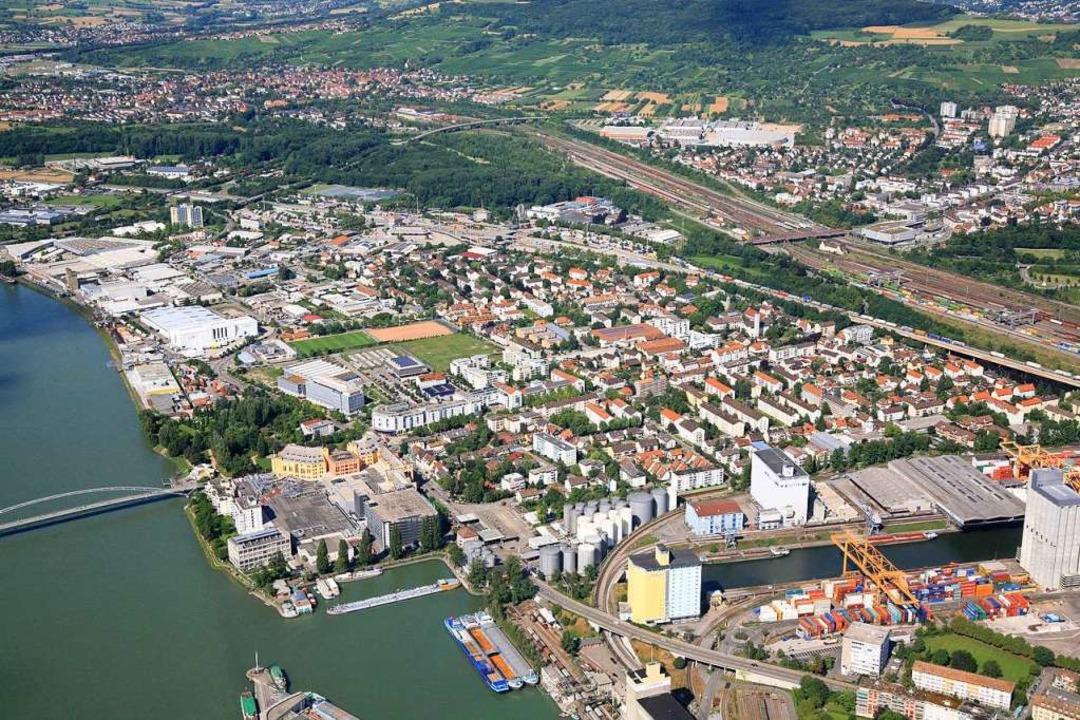 Friedlingen ist ein  dynamischer Stadt...sensgruppen und damit auch Spannungen.  | Foto: Erich Meyer