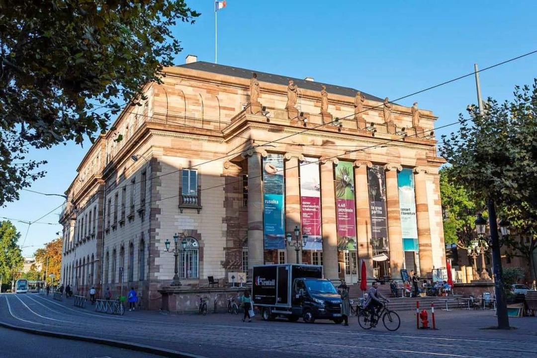 Die Opera national du Rhin in Straßburg  | Foto: Philipp von Ditfurth (dpa)