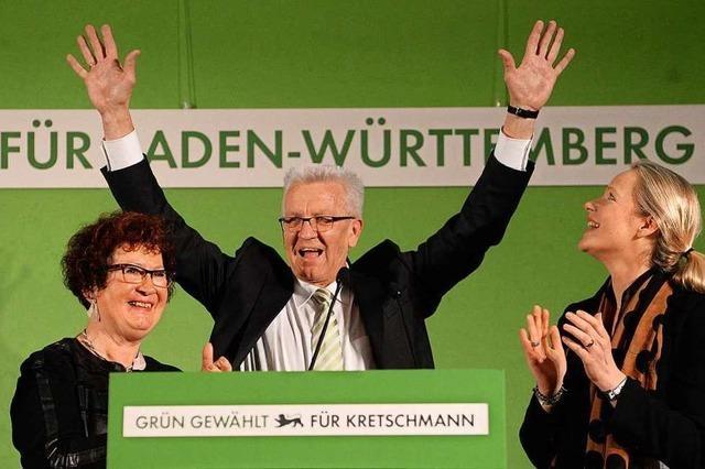Die Grünen saugen die CDU im Stile einer Gottesanbeterin aus