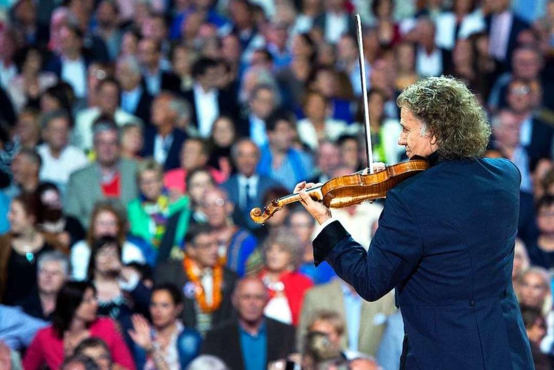 Begeistert stets ein großes Publikum: André Rieu  | Foto: Marcel van Hoorn (André Rieu Productions BV)