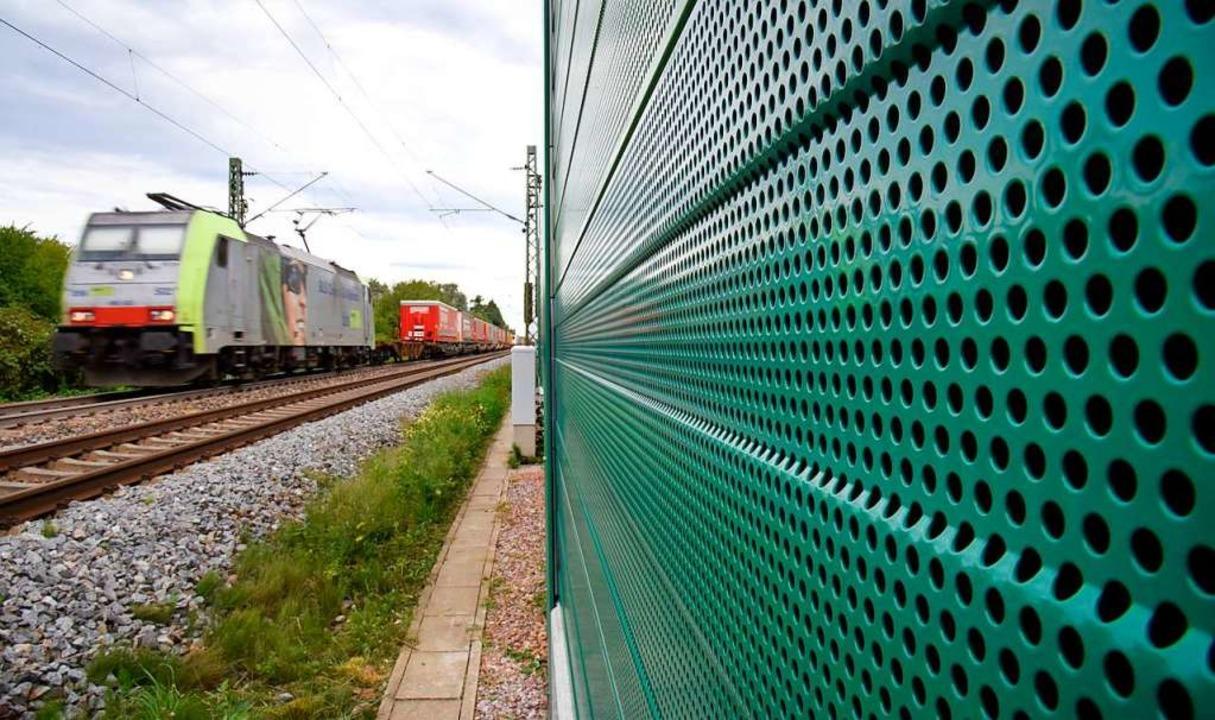 Die Kernforderung des Vollschutzes wurde laut Bahn erfüllt.    Foto: Siegfried Gollrad