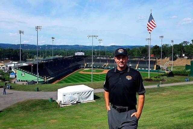 Der Marcher Stefan Rohrbeck war als Baseball-Schiedsrichter in den USA im Einsatz