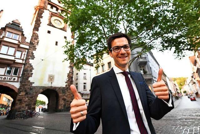 Freiburgs OB Horn ruft erste Räderrepublik Deutschlands aus