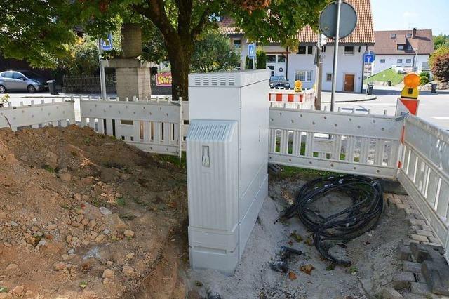 Der Ortschaftsrat Karsau will einen Verteilerkasten um 18 Meter verlegen
