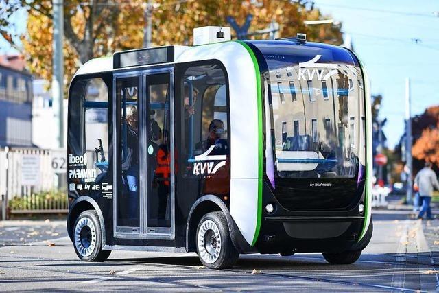 Autonome Shuttlebusse sollen Tourismus stärken