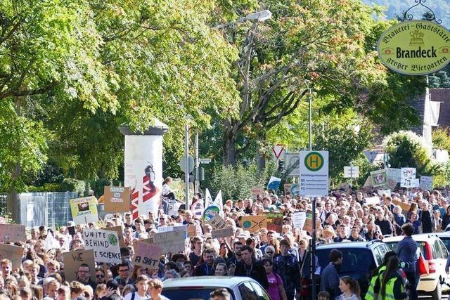 Fotos: 2000 Menschen demonstrieren in Offenburg für die Klimawende