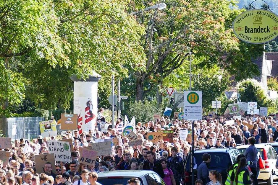 Globaler Klimastreiktag in Offenburg (Foto: Ralf Burgmaier)