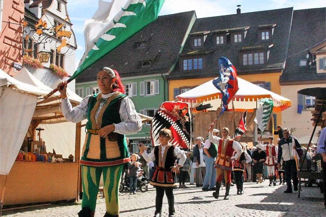 Zurück in die Vergangenheit: In der St...den die Stadtgeschichten Stages statt.  | Foto: Hans Jürgen Kugler