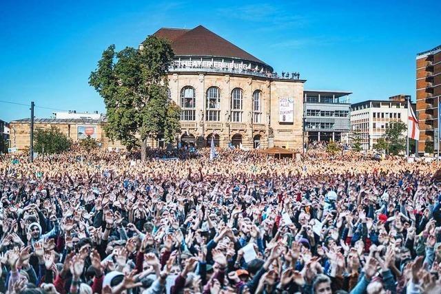 Liveticker zum Nachlesen: Mehr als 20.000 Menschen gehen in Freiburg fürs Klima auf die Straße