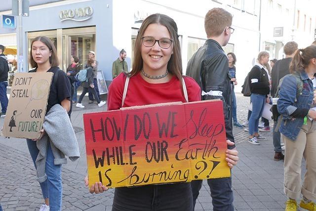 Fotos: 2000 Menschen beim Klimastreik in Offenburg