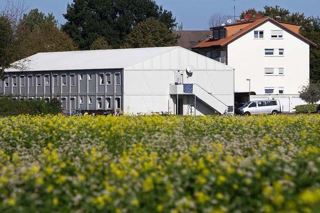 Container als Flüchtlingsunterkunft in Teningen bleiben bis Mitte 2021