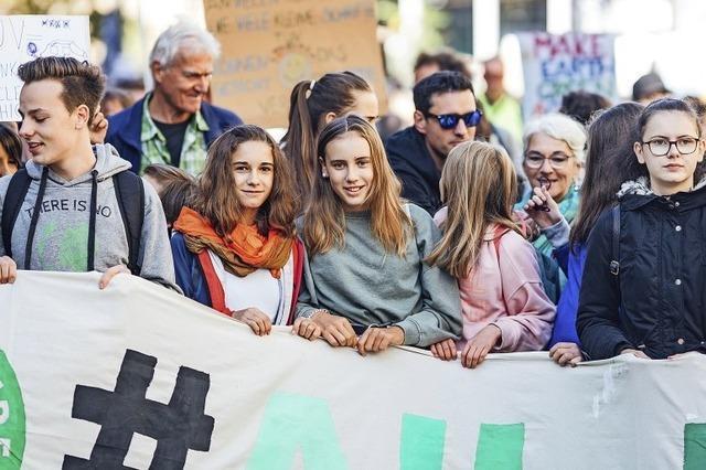 Mehr als 20.000 streiken in Freiburg fürs Klima