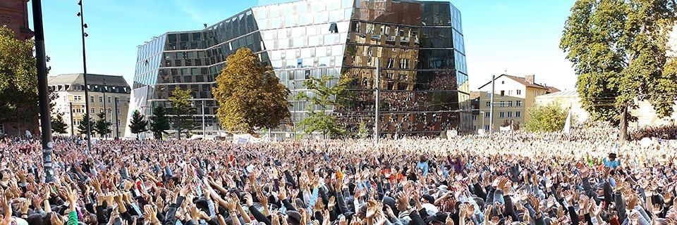 Freiburg erlebt mit Fridays for Future eine Rekord-Demo