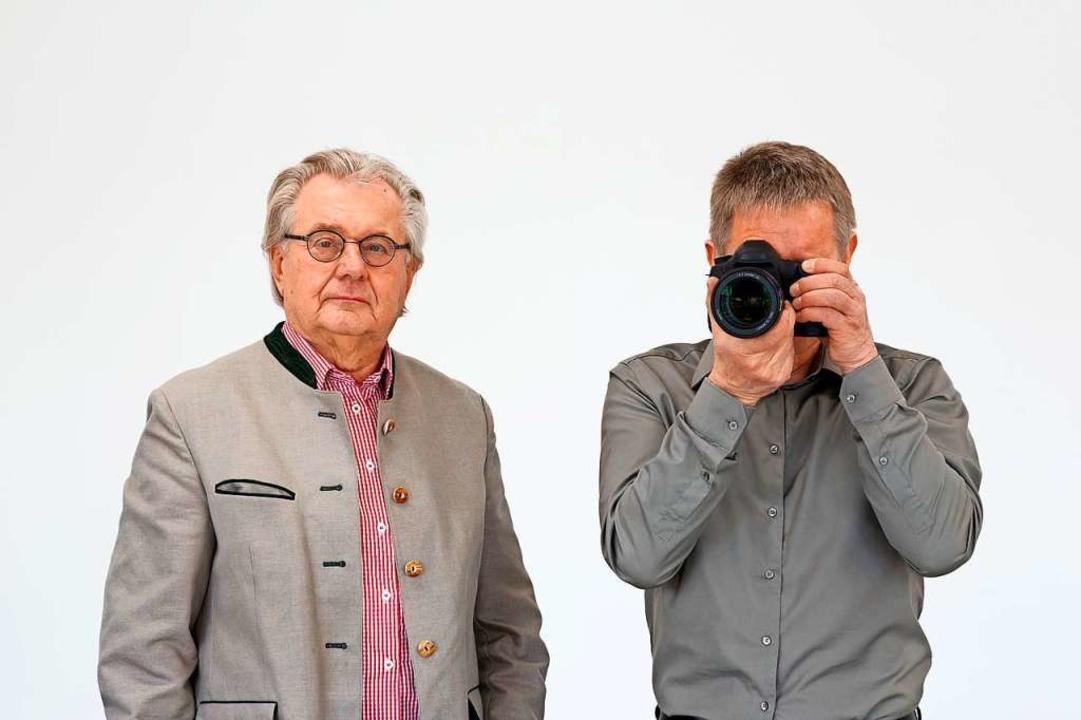 Der Sammler Paul Ege in einer Fotografie von Dieter Kiessling  | Foto: Foto: Dieter Kiessling / Hengesbach Gallery, Wuppertal