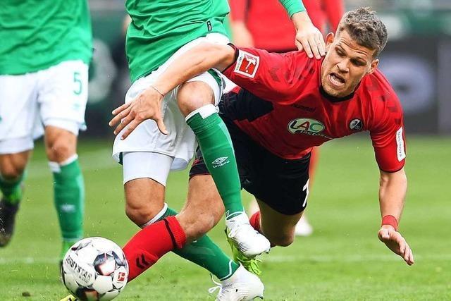 Florian Niederlechner kehrt mit dem FC Augsburg nach Freiburg zurück