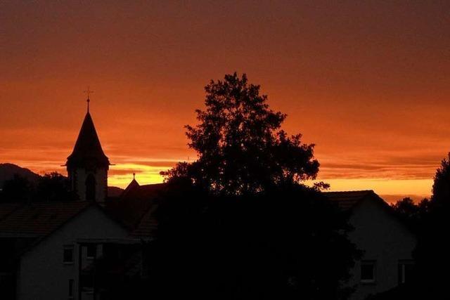 Rote Stunde in Buchenbach