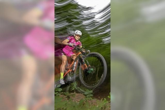 Sabine Spitz' letztes Rennen
