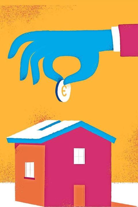 Eine Immobilienfinanzierung ist eine langfristige Angelegenheit.  | Foto: Hurca!