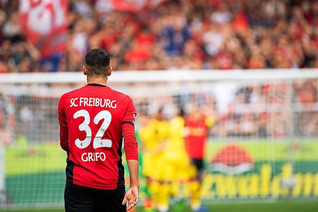 Vincenzo Grifo wird in dieser Saison e...er in Freiburg unter Vertrag genommen.  | Foto: Sebastian Gollnow (dpa)