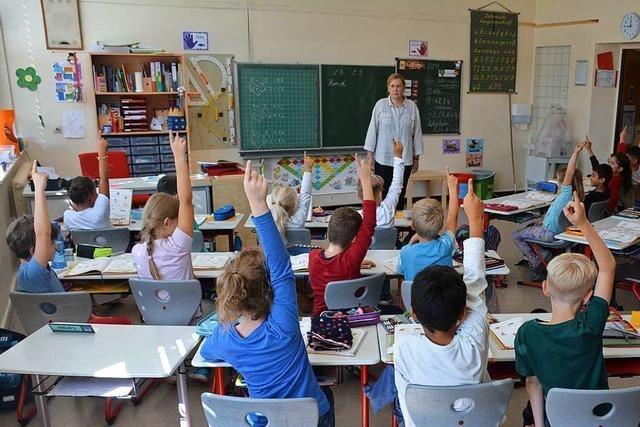 Die Grundschulen in Weil am Rhein suchen keine neuen Lehrer – aktuell