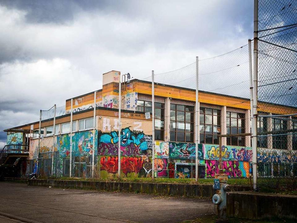 Das JuZe in der Turnhalle an der Mühle...eiraum für Jugendkultur in Denzlingen.  | Foto: Carlotta Huber