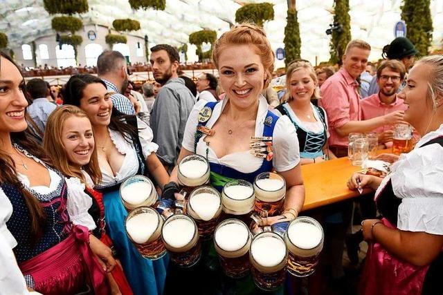 Sonne, Bier und Volksfeststimmung: Oktoberfest hat begonnen