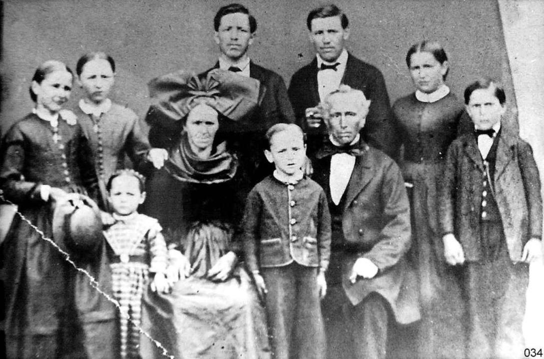 Die älteste Fotografie im Tal stammt a...us II (rechts), im Amt  von 1893-1919.  | Foto: Manfred Lange