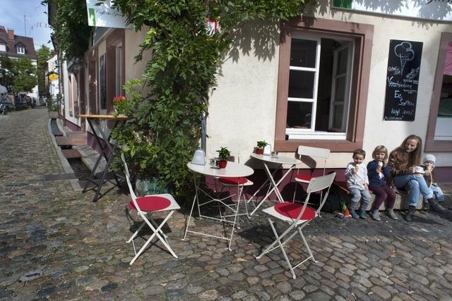 Das Caffè da Gianni in Freiburg ist ein guter Platz für eine kleine Pause