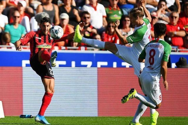 Doppelter Pfosten und Niederlechner verhindern Heimsieg des SC Freiburg gegen Augsburg