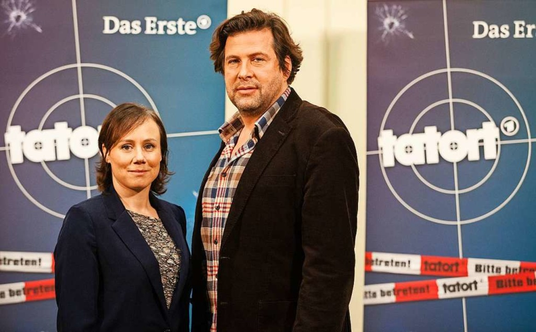 Das neue Team des «Tatort-Schwarzwald»...dfunkhaus des Südwest-Rundfunks (SWR).  | Foto: Christoph Schmidt