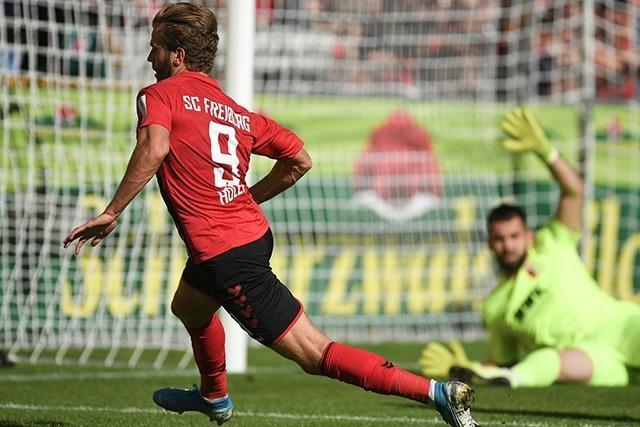 Freiburg spielt 1:1 gegen Augsburg und ist vorerst Tabellenzweiter