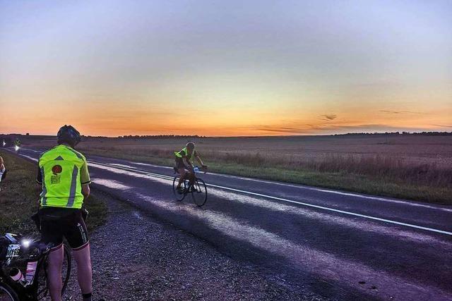 Stefan Drexler aus Steinen schafft mit dem Rad 1200 Kilometer in 73 Stunden