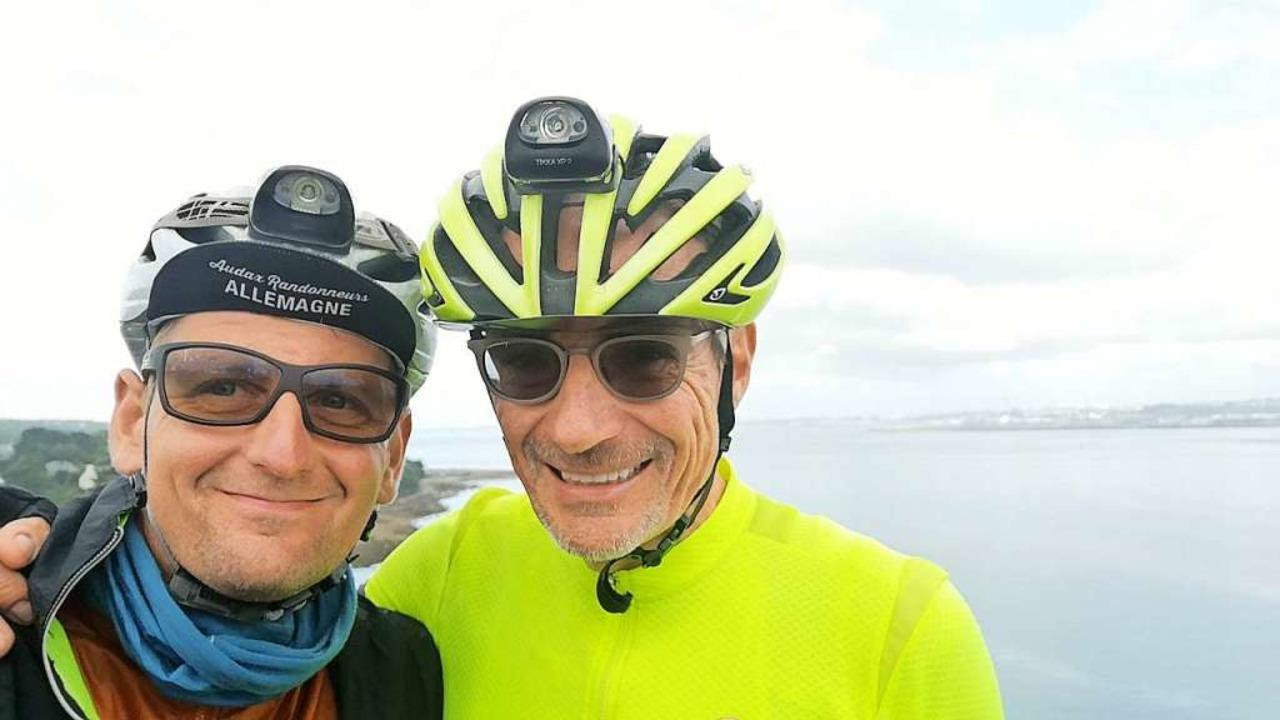 In Brest: Stefan Drexler und Peter Maier.  | Foto: Privat