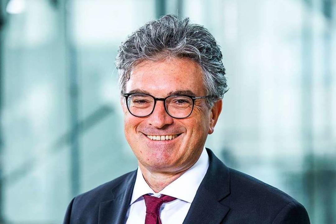 Ex-OB und IHK-Hauptgeschäftsführer Dieter Salomon.  | Foto: Klaus Polkowski (IHK Südlicher Oberrhein)