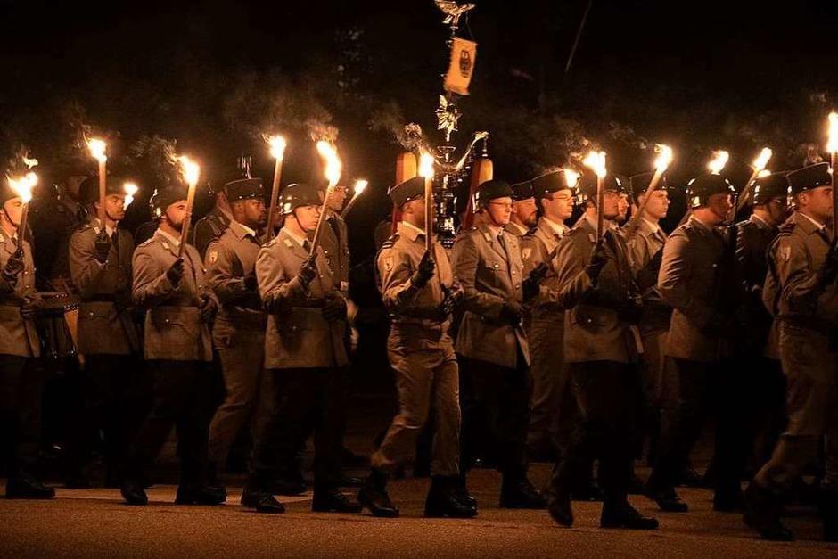Die Deutsch-Französische Brigade stellte sich am Samstag beim Tag der offenen Tür der Öffentlichkeit vor.<?ZP?> (Foto: Volker Münch)