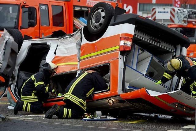 Auch Rettungsdienstmitarbeiter können Hilfe benötigen
