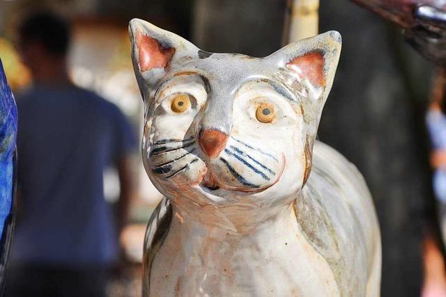 Fotos: Neue Trends und Techniken beim Kanderner Keramikmarkt