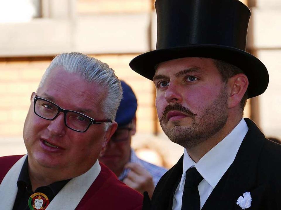 Jörg Rosskopf und Michi Lindemer  | Foto: Martina David-Wenk