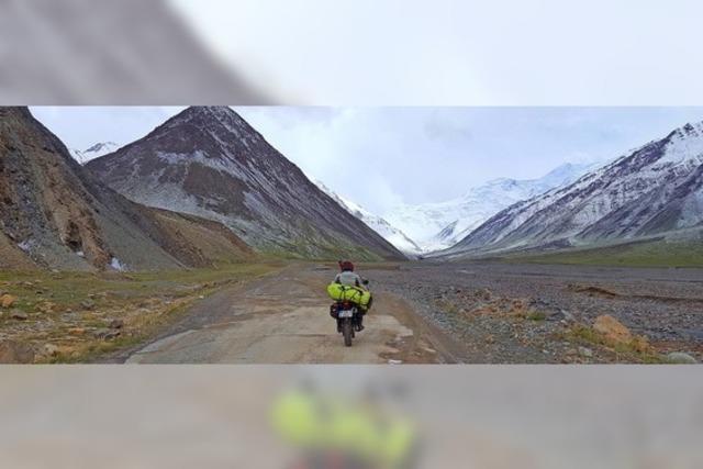 Mit 64-Jahren mit dem Motorrad um die Welt