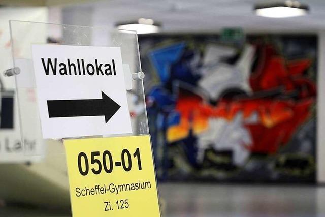 Fotos: Die Oberbürgermeisterwahl in Lahr
