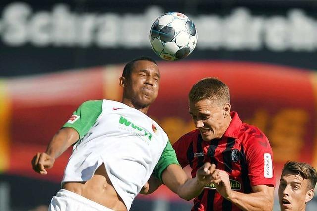Spiele wie das 1:1 gegen den FC Augsburg helfen dem SC Freiburg weiter