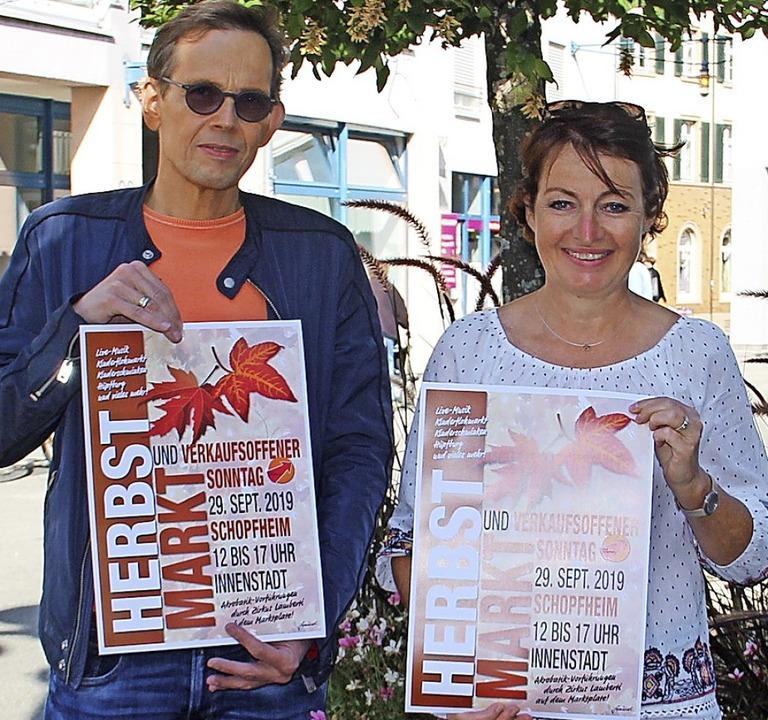 Zum Herbstmarkt laden  Stefan Klever u...kommenden Sonntag nach Schopfheim ein.  | Foto: Monika Weber