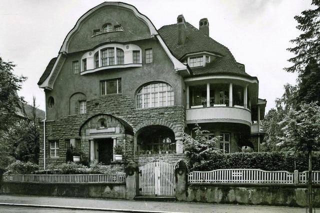 Die Villa des Ludwig Merckle