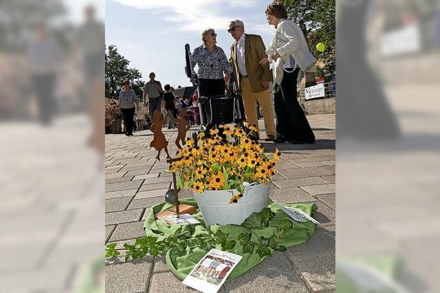 Auf Bad Krozingens Straßen und Plätzen wurde zusammen Heimat gefeiert