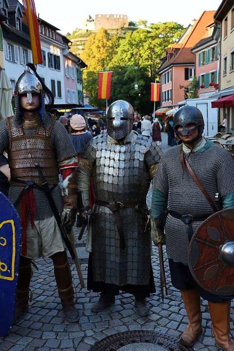 Ja so warns, die alten Rittersleut  | Foto: Hans-Peter Müller