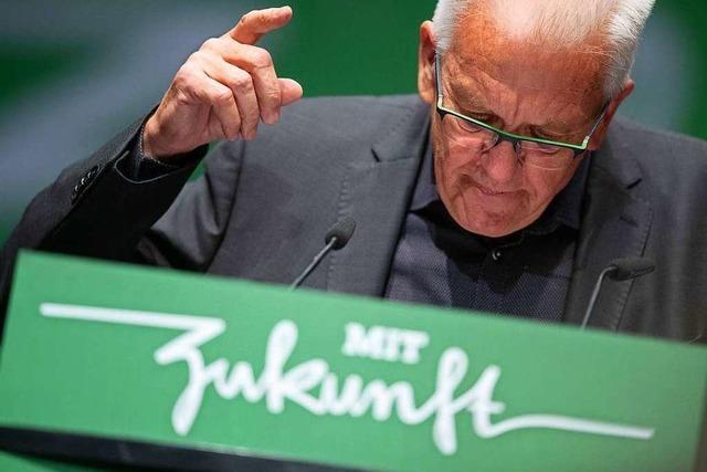 Ministerpräsident Kretschmann verschärft den Ton