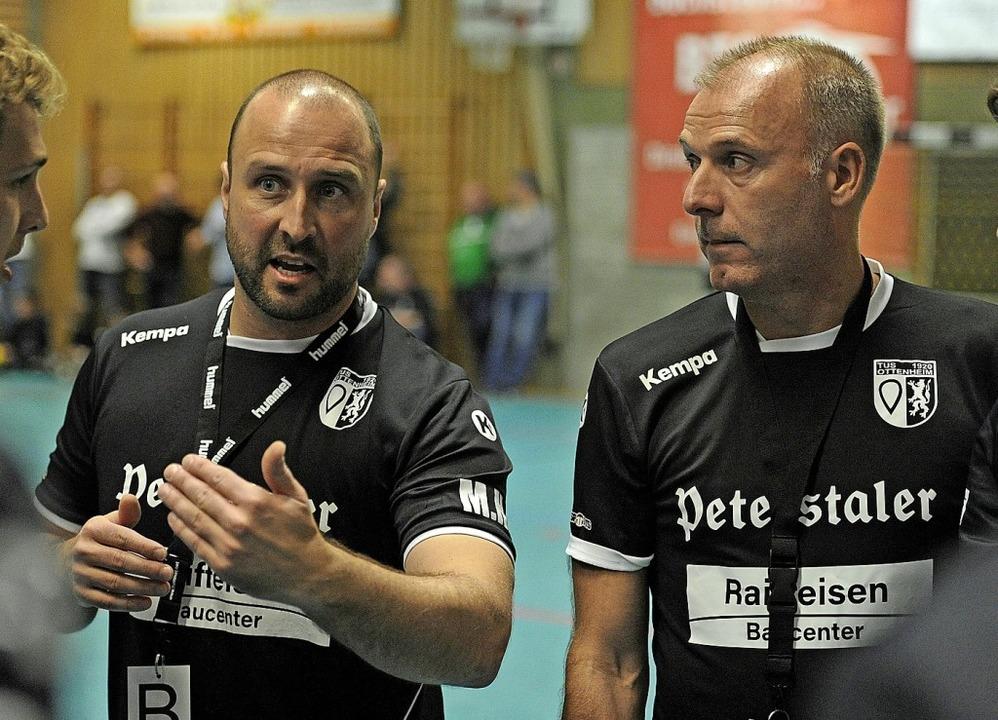 <BZ-FotoAnlauf>TuS Ottenheim: </BZ-Fot...s) und Ulf Seefeldt fruchteten nicht.     Foto: Bettina Schaller