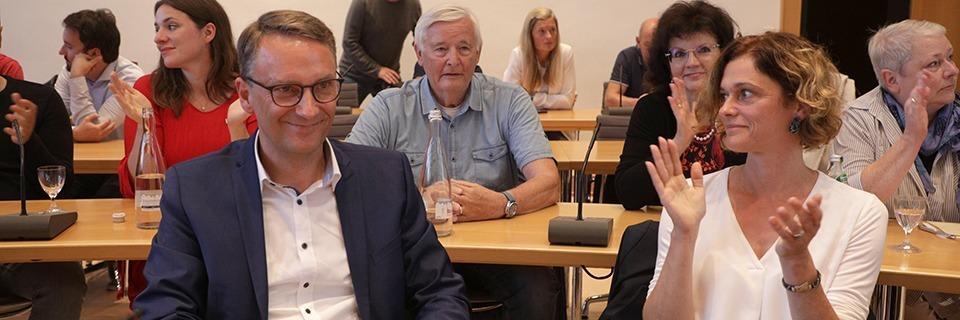 Markus Ibert holt im ersten Wahlgang in Lahr die meisten Stimmen